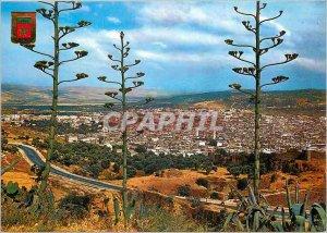 Postcard Modern Fes general view