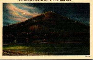 Virginia Buchanan Purgatory Mountain By Night