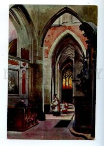 177031 POLAND Mickiewicz Chapelle Reine Sophie by KOSSAK old