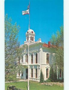 Pre-1980 COURT HOUSE Bridgeport Iowa IA n4344