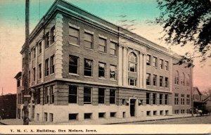 Iowa Des Moines Y M C A Buildingg 1912