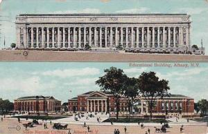 New York Albany Educational Building State Normal College 1910