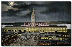 Postcard Old Cam San Francisco Ferry Building