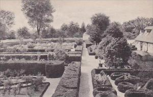 Virginia Mt Vernon Home Of George WashingtonView Of Flower Garden Looking Wes...