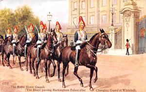 United Kingdom, Great Britain, England Royal Horse Guards, Changing Guard  Ro...