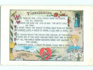 Pre-Linen Thanksgiving MANY IMAGES ON POSTCARD AC4283