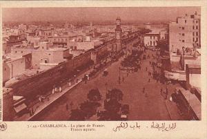 Morocco Casablanca La place de France