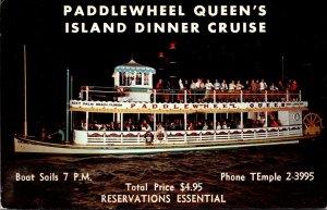 Florida West Palm Beach Paddlewheel Queen Island Dinner Cruise