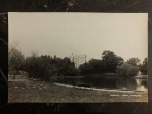 Mint China Real Picture Postcard RPPC Jessfield Park Shanghai