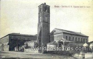 Basilica di S Agnese fuori le Mura Roma, Italy Unused