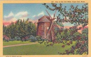 Old Windmill Cape Cod Massachusetts
