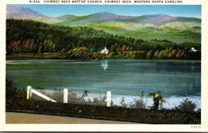 North Carolina Chimney Rock Baptist Church