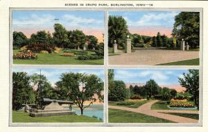 IA - Burlington. Crapo Park, Multi-View