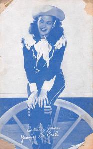 Yvonne De Carlo Western Actor Mutoscope Unused
