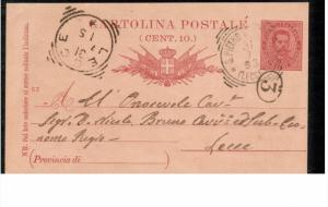 ITALY, 1900-1910's; Card For Writing