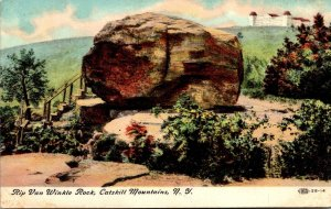 New York Catskill Mountains The Van Winkle Rock