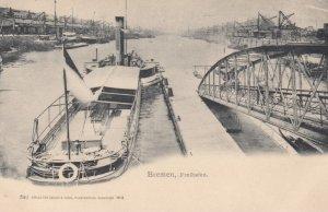 BREMEN , Germany , 1900-10s ; Freihafen
