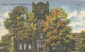 Ivy Covered Caldwell Conservatory, Bloomsburg, Pennslyvania 1954
