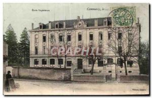 Old Postcard Commercy Ecole Superieure