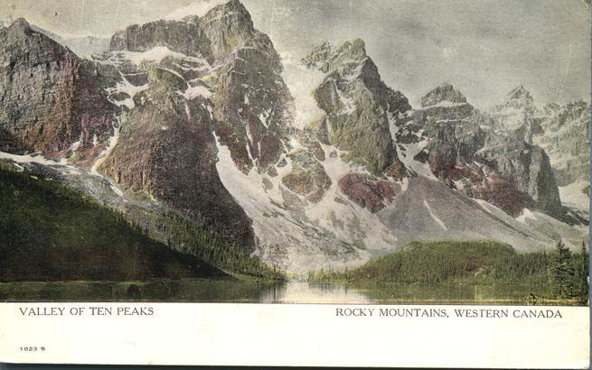 Valley of Ten Peaks - Rocky Mountains - Alberta, Western Canada - DB
