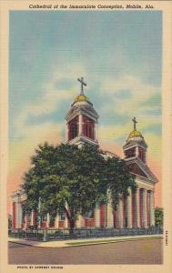 Alabama Mobile Cathedral Of The Immaculate Conception Curteich