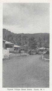 GUAM , 1940s ; Village Street Scene
