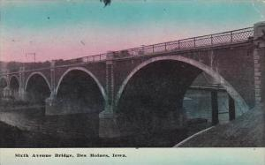 Iowa Des Moines Sixth Avenue Bridge