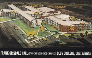Frank Grisdale Hall, Olds College, OLDS,  Alberta, Canada, 40-60s
