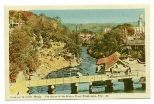 Gorge of the Magog River, Sherbrooke, Province Quebec, Canada, 10-20s