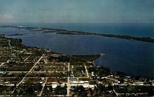 Florida Englewood Aerial View 1965