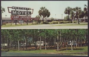 Westgate Motel,Perry,FL Postcard