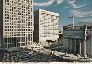 Winnipeg Inn, The Famous Corner of Portage Avenue and Main Street, Winnipeg, ...