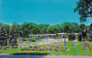 Indiana Fort Wayne Lakeside Rose Gardens