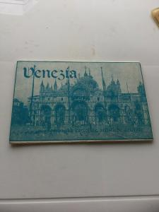 Vintage Souvenir Postcard Set of 8 Assorted cards Venice, Venezia Italy