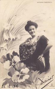 AS: Actress Amparo Taberner, PU-1908