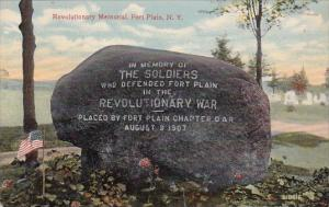 Revolutionary Memorial Fort Plain New York