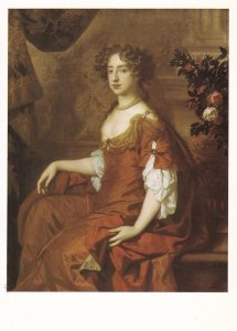Queen Mary II 2 Of England Rare National Portrait Gallery Peter Lely Painting...