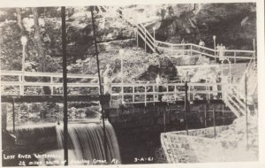 RP: BOWLING GREEN , Kentucky , 1930-40s ; Lost River Waterfall