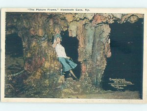 Linen CAVERNS SCENE Mammoth Cave National Park - Cave City Kentucky KY AD6710