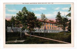 Near ASHLAND, Wisconsin, PU-1946; Tri-County Sanitorium