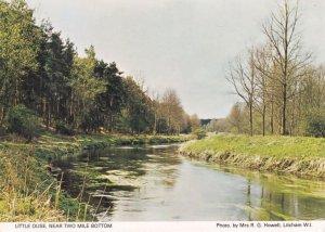 Little Ouse Norfolk Lake Two Mile Bottom Postcard