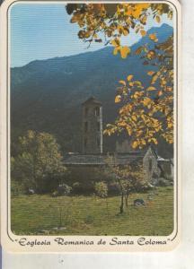 Postal 013853: Iglesia romanica de Santa Coloma, Andorra