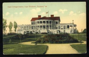 Portland, Maine/ME Postcard, Cape Cottage Casino, Cape Elizabeth
