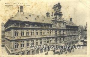 Anvers Netherlands, Nederland Hotel de Ville  Hotel de Ville