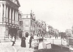 Amsterdam Van Baerlestraat in 1892 Postcard