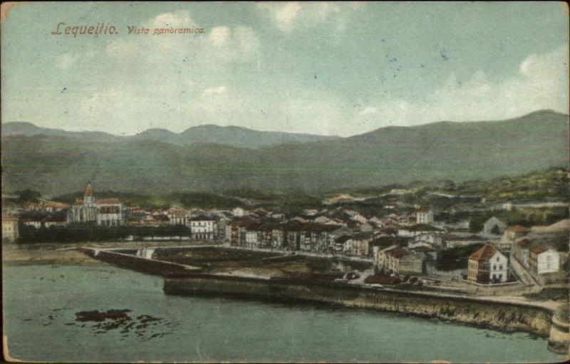 Lekeitio Lequeitio Spain c1910 Postcard