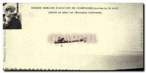 COPY Great Week D & # 39Aviation De Champagne 26 August Latham Antoinette mon...
