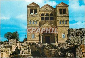 Modern Postcard Mount Tabor The Basilica of the Transfiguration