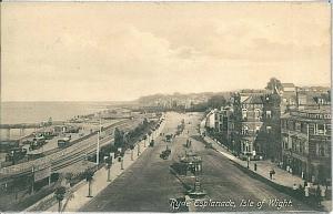 VINTAGE POSTCARD: GB : ISLE OF WIGHT - RYDE 1902