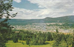 WILLIAMS LAKE, British Columbia, Canada, 1940-1960's; View Of The Vast Chilco...